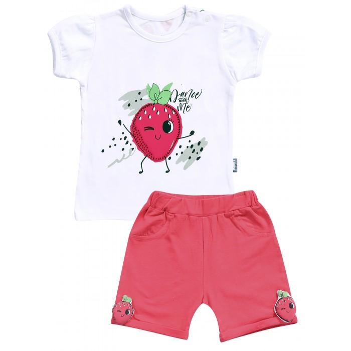 Mini World Комплект для девочки (футболка, шорты)