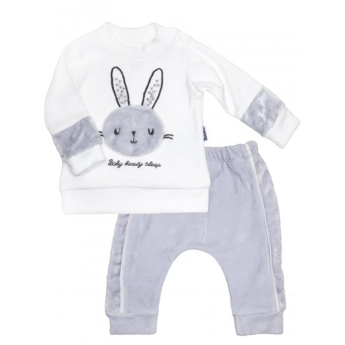 Картинка для Комплекты детской одежды Mini World Комплект для девочки (лонгслив, брюки) MW15352