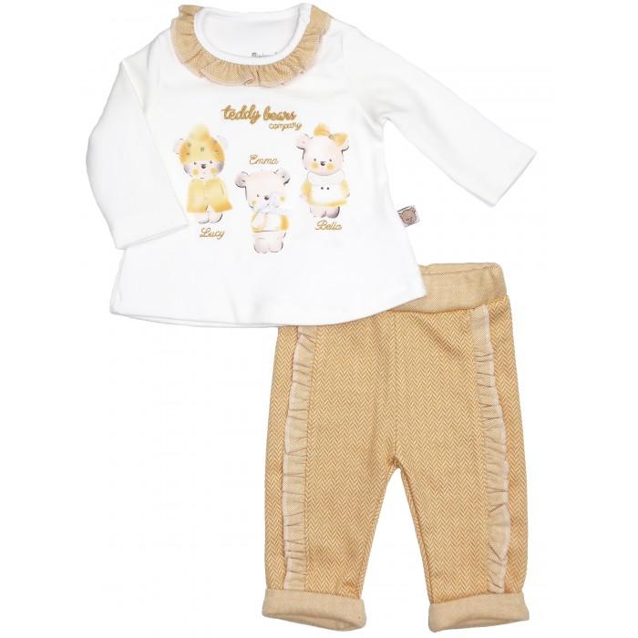 Фото - Комплекты детской одежды Mini World Комплект для девочки (лонгслив, брюки) MW15436 комплекты детской одежды mini world комплект для девочки туника бриджи