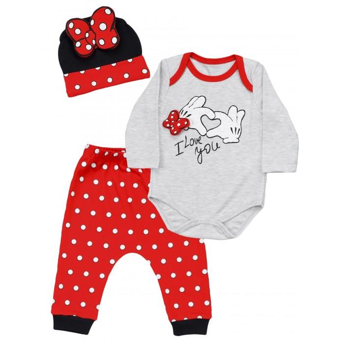 Фото - Комплекты детской одежды Mini World Комплект для девочки MW15918 комплекты детской одежды mini world комплект для девочки туника бриджи