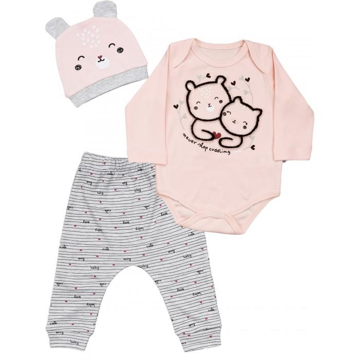Фото - Комплекты детской одежды Mini World Комплект для девочки MW15919 комплекты детской одежды mini world комплект для девочки туника бриджи