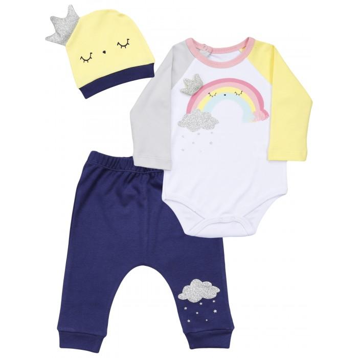 Фото - Комплекты детской одежды Mini World Комплект для девочки MW15921 комплекты детской одежды mini world комплект для девочки туника бриджи