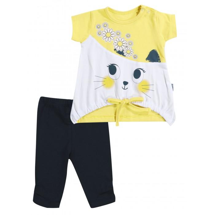 Фото - Комплекты детской одежды Mini World Комплект для девочки (туника, бриджи) комплекты детской одежды mini world комплект для девочки туника бриджи