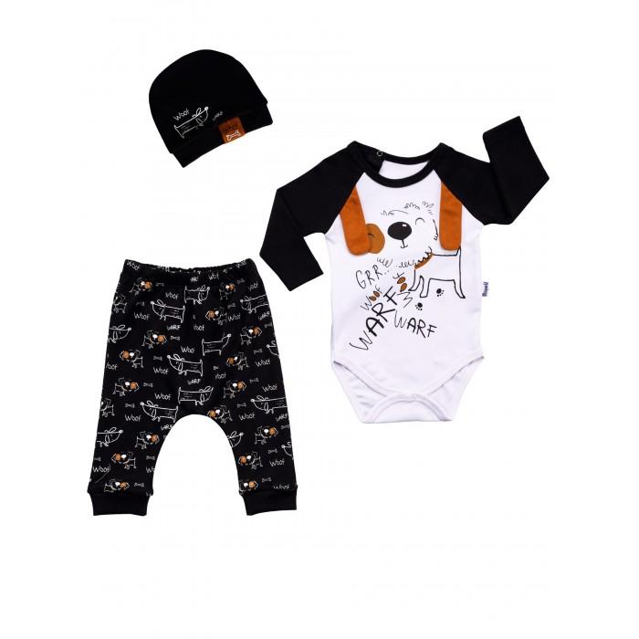 Картинка для Комплекты детской одежды Mini World Комплект для новорожденного (боди, брюки и шапка) MW15412