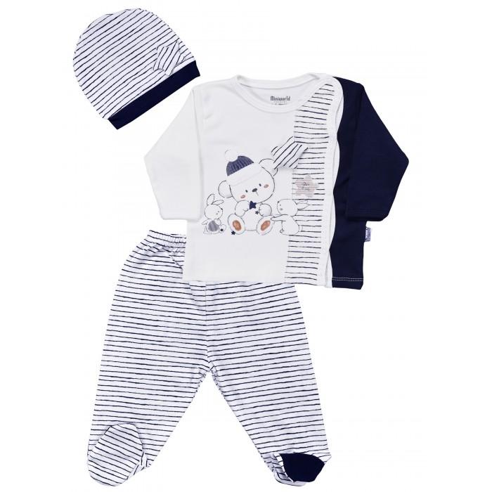 Купить Комплекты детской одежды, Mini World Комплект для новорожденного MW15104
