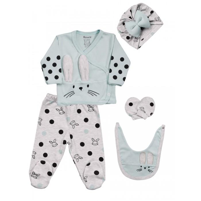 Комплекты детской одежды Mini World Комплект для новорожденного MW15409