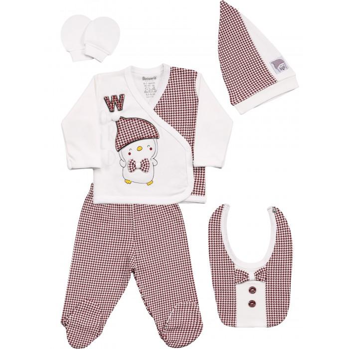 Комплекты детской одежды Mini World Комплект для новорожденного MW15421