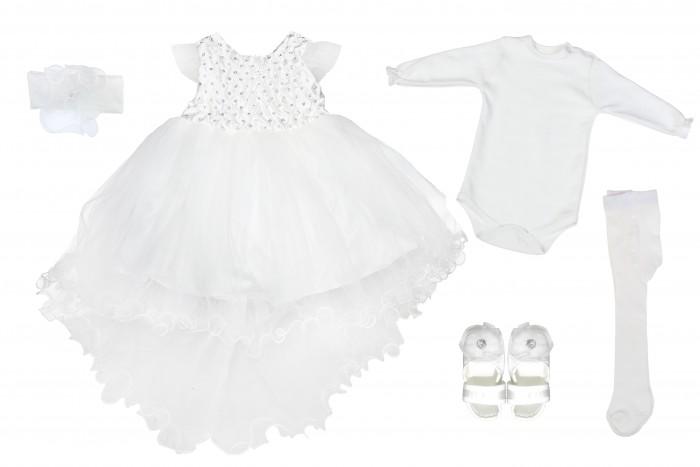 Комплекты детской одежды Mini World Подарочный набор для девочки (5 предметов) MW13884 комплекты детской одежды mini world подарочный набор для девочки 5 предм��тов mw13908