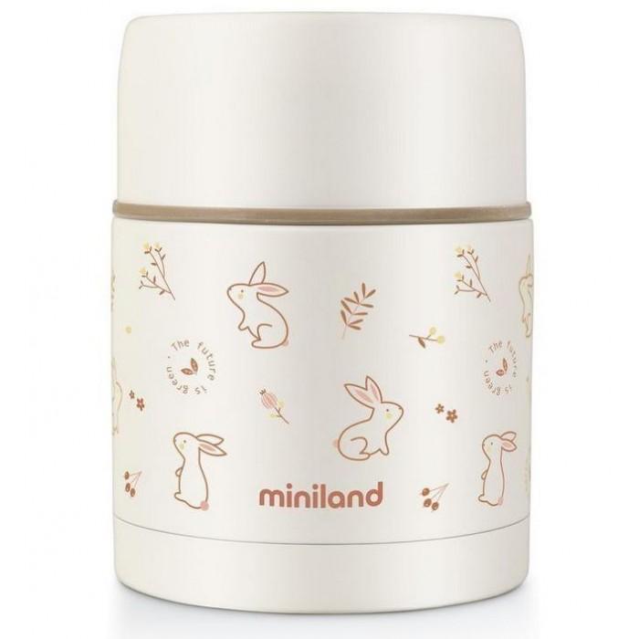 Термос Miniland детский для еды Natur Thermos 600 мл