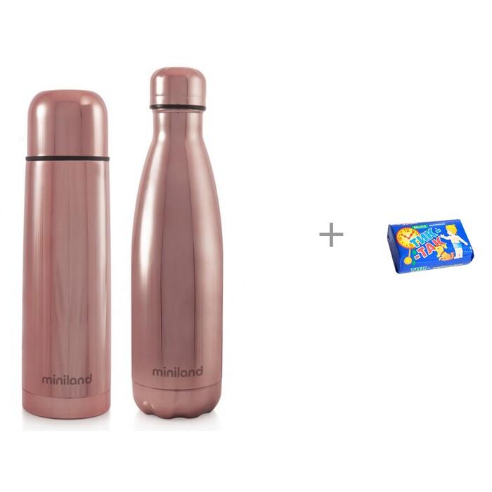 Термос Miniland и термобутылка MyBaby&Me 500 мл с мылом Свобода Тик-так 150 г