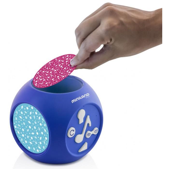Купить Ночники, Miniland Музыкальный ночник-проектор Dreamcube