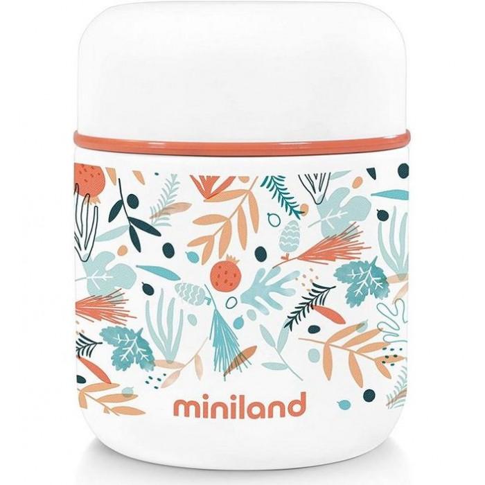 Термос Miniland Mediterranean Mini для еды с сумкой 280 мл