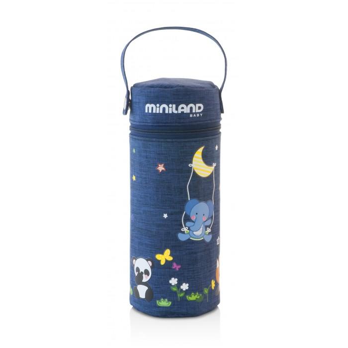 Купить Термосумки, Miniland Термо-сумка для бутылочек Denim 330 мл