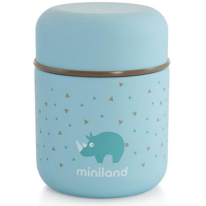 Термос Miniland Silky Thermos Mini для еды с сумкой 280 мл фото