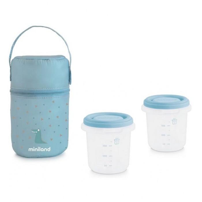 Miniland Термосумка Pack-2-Go Hermisized с 2 вакуумными контейнерами 2х250 мл от Miniland