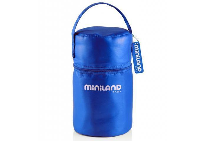 Miniland Термосумка с 2 мерными стаканчиками Pack-2-GO Hermifresh