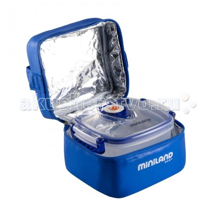 Термосумки Miniland Термосумка с 2 вакуумными контейнерами Pack-2-GO Hermifresh термосумка miniland термосумка с 2 мерными стаканчиками синяя