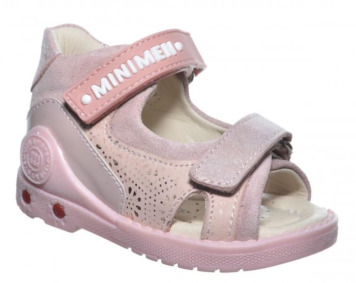Купить Босоножки и сандалии, Minimen Сандалии для девочки 1717-12-9A-04