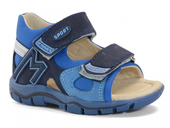 Купить Босоножки и сандалии, Minimen Сандалии для мальчика 01-732-12-9A-03