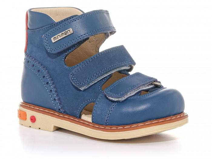 Купить Босоножки и сандалии, Minimen Сандалии для мальчика 04-126