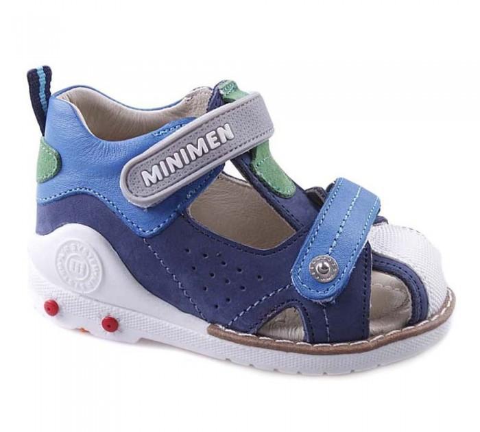 Купить Босоножки и сандалии, Minimen Сандалии для мальчика 1713-12-8A_08
