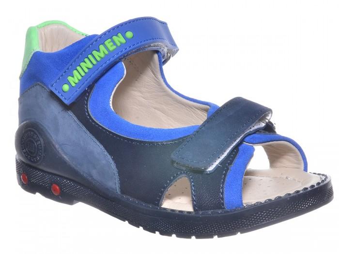 Купить Босоножки и сандалии, Minimen Сандалии для мальчика 1717-12-9A-01