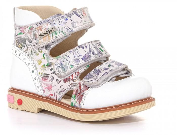 Босоножки и сандалии Minimen Туфли открытые для девочки 04-126 туфли для девочки капитошка цвет розовый c10841 размер 21