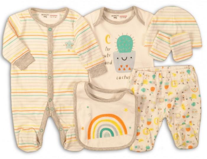 Комплекты детской одежды Minoti Комплект ABC4 (6 предметов)