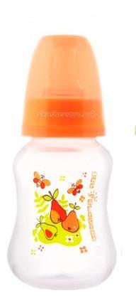 Бутылочки Мир детства для кормления эргономичной формы 125 мл бутылочки для кормления