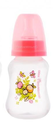 Бутылочки Мир детства для кормления эргономичной формы 125 мл фиксатор двери мир детства мишка