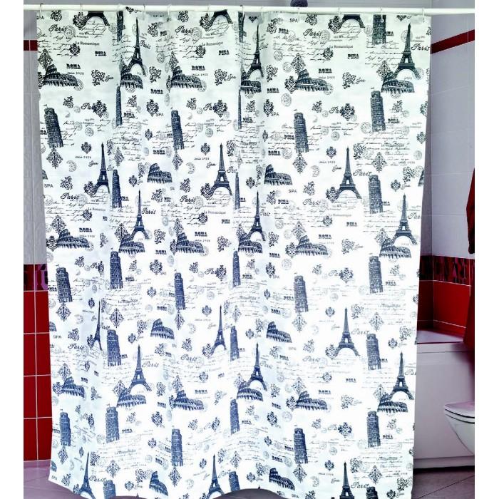 Купить Шторы для ванны, Miranda Шторы для ванн полиэстер Ancient 180х200 см