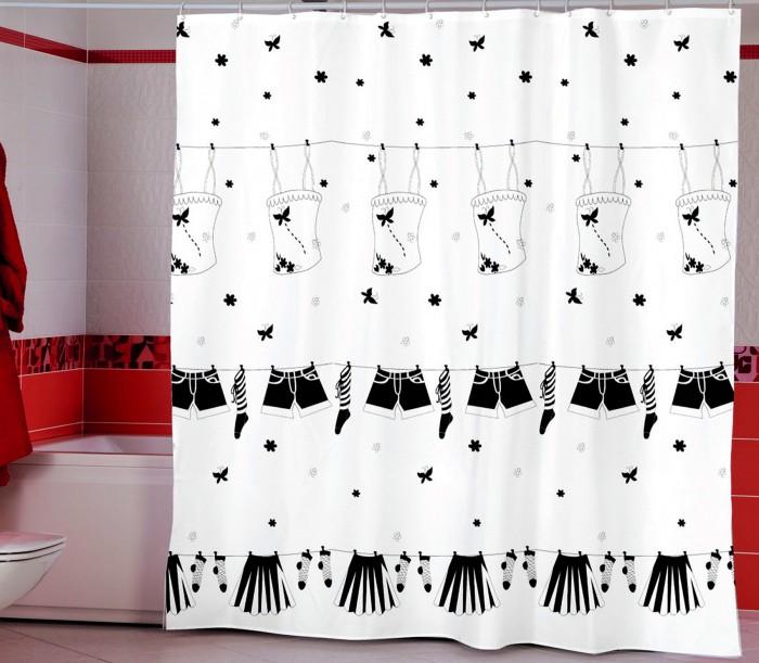 Купить Шторы для ванны, Miranda Шторы для ванн полиэстер Dressy 180х200 см