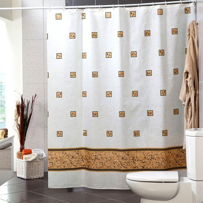 Купить Шторы для ванны, Miranda Шторы для ванн полиэстер Emerald 180х200 см