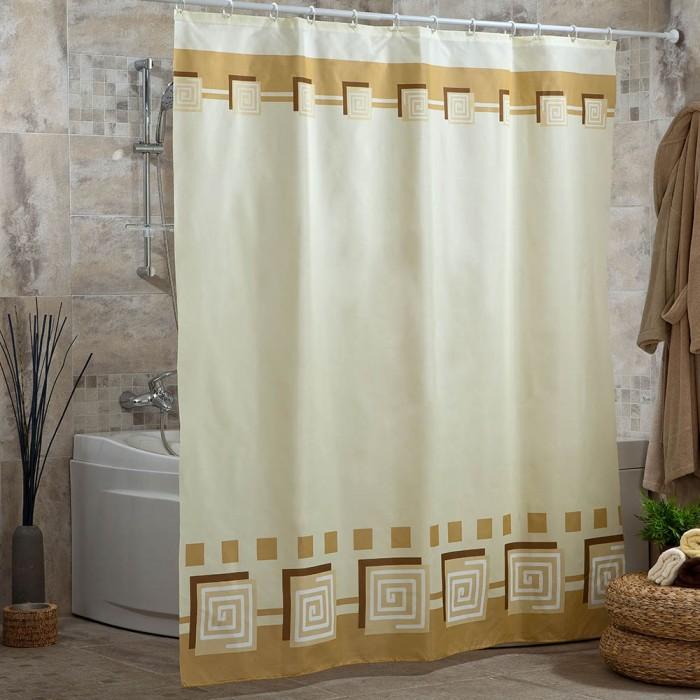 Купить Шторы для ванны, Miranda Шторы для ванн полиэстер Lykia 180х200 см