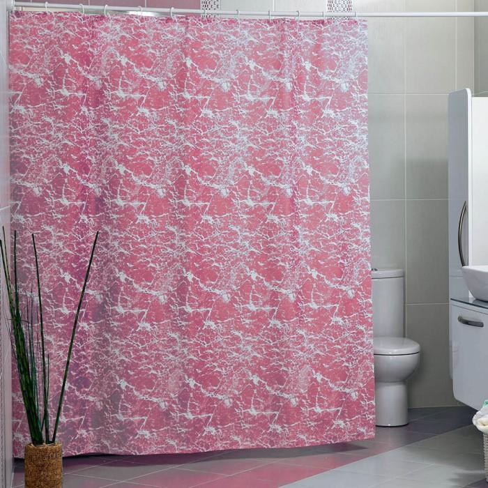 Купить Шторы для ванны, Miranda Шторы для ванн полиэстер Mermer SU 180х200 см