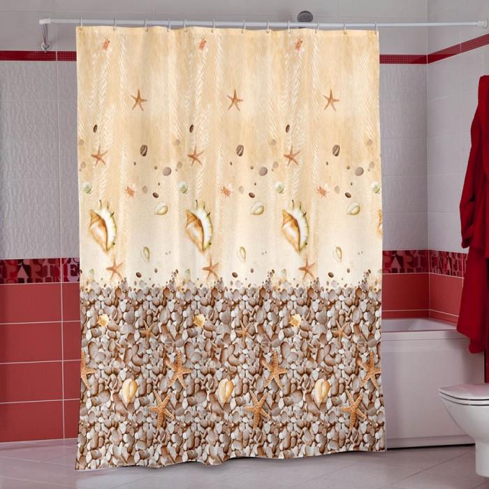 Шторы для ванны, Miranda Шторы для ванн полиэстер Subaqua 180х200 см  - купить со скидкой