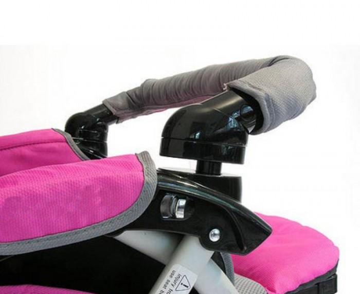 Аксессуары для колясок Мирти Чехол на ручку для коляски аксессуары для колясок мирти коврик накидка дышащая для коляски