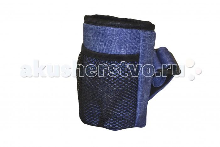 Аксессуары для колясок Мирти Сумка-бутылочница для коляски Принт