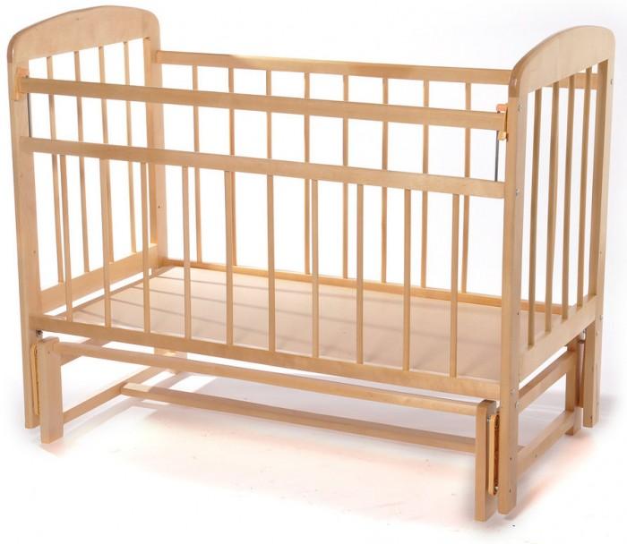 Детские кроватки Мишутка 11 без ящика маятник поперечный, Детские кроватки - артикул:597814