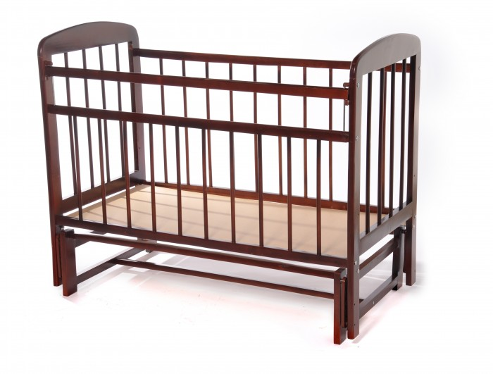 Детские кроватки Уренская мебельная фабрика 11 без ящика маятник поперечный