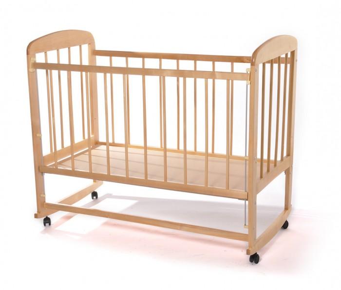 Детские кроватки Мишутка 12 колесо качалка, Детские кроватки - артикул:597834