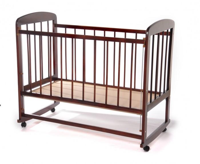 Детская кроватка Уренская мебельная фабрика 12 колесо качалка