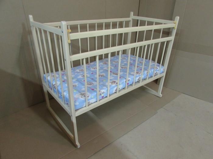 обычная кроватка 120x60 вдк magico mini берёза Детские кроватки Мишутка 13 120x60 см (качалка)