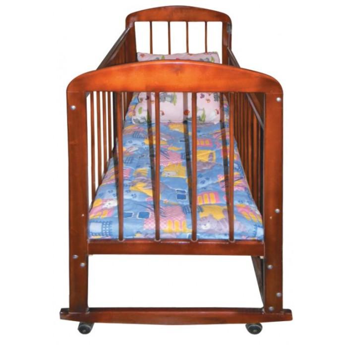 Детская кроватка Мишутка 8 120x60 см (качалка)