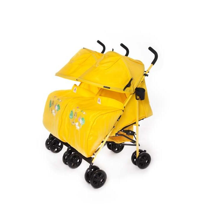 Детские коляски , Коляски для двойни и погодок Мишутка SL-501S для двойни арт: 276607 -  Коляски для двойни и погодок