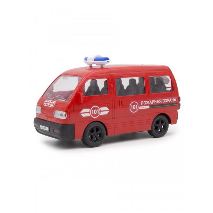 Машины Mittivoy Машина инерционная Пожарная охрана Минивэн 25 см