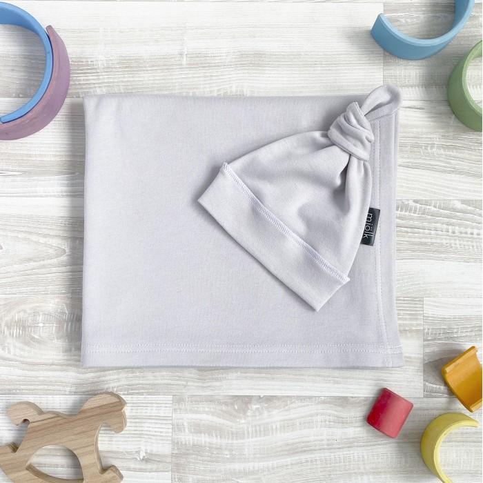 Купить Шапки, варежки и шарфы, Mjolk Шапочка и пеленка White Sand Swaddle