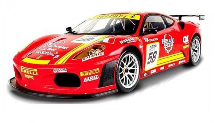 Машины Mjx Радиоуправляемый автомобиль 1:20 Ferrari 430 GT с наклейками радиоуправляемый квадрокоптер mjx x300c hd 2 4g