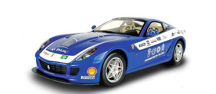 Машины Mjx Радиоуправляемый автомобиль 1:20 Ferrari 599 GTB Fiorano Panamerican радиоуправляемый квадрокоптер mjx x300c hd 2 4g