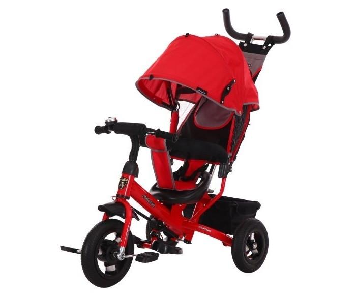 Детский транспорт , Трехколесные велосипеды Moby Kids Comfort 10x8 AIR арт: 520286 -  Трехколесные велосипеды